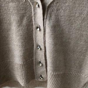 J. Crew Sweaters - 💥J.CREW SOFT PINK SPARKLE V-NECK CARDIGAN